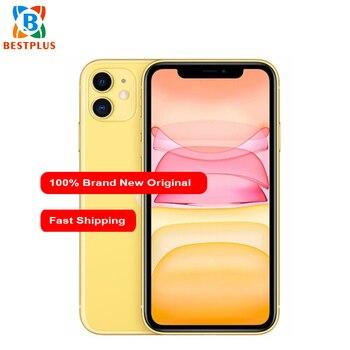 "Brand New 6.1"" 4GB RAM 256GB ROM Apple iphone 11 A2223 Mobile Phone iOS 13 3046 mAh IP68 waterproof Dual SIM Cell Phone"
