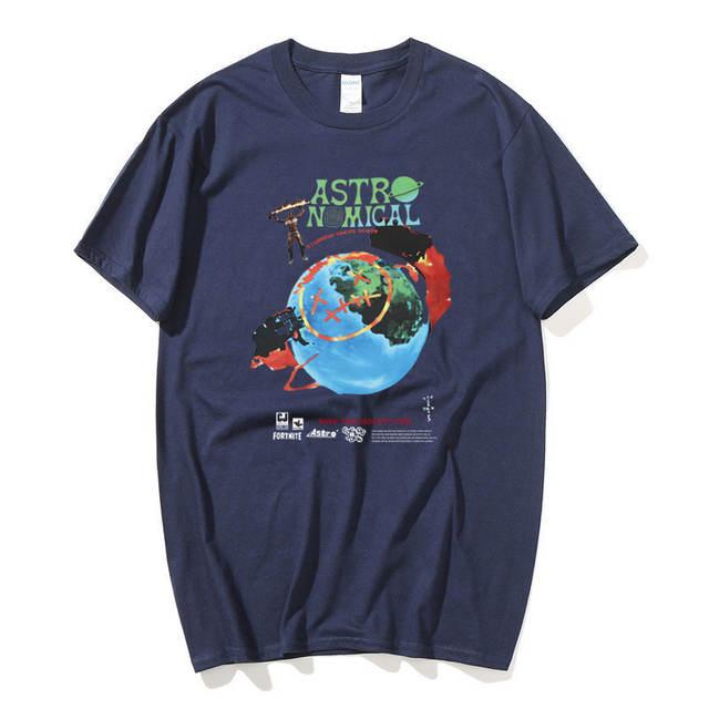 TRAVIS SCOTT ASTRONOMICAL THEMED T-SHIRT (22 VARIAN)