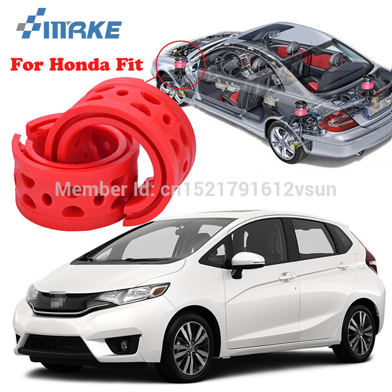 smRKE For Honda Fit High quality Front /Rear Car Auto Shock Absorber Spring Bumper Power Cushion Buffer|Shock Absorber Parts| |  - title=