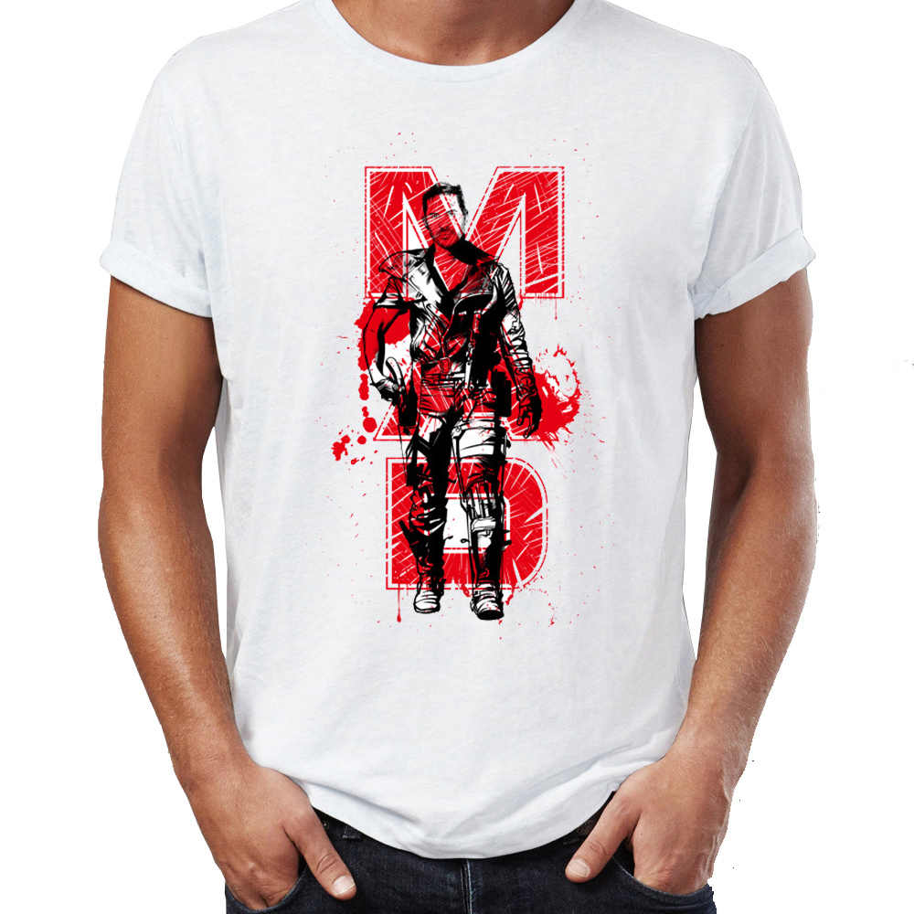 Mannen T-shirt Mad Max De Fury Road Awesome Artsy Tee