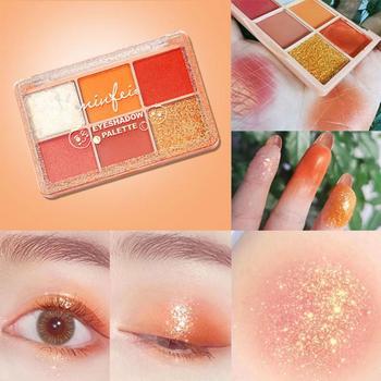 Cekiny cienie do powiek paleta żelowa makijaż brokat puree ziemniaczane paleta cieni do powiek wodoodporne cienie pielęgnacja oczu kosmetyki tanie i dobre opinie CN (pochodzenie) AS SHOWN eyeshadow