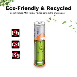 Image 5 - 10 pièces PKCELL 1.6V 900mWh Nickel Zinc ni zn AAA batterie Rechargeable NIZN batterie Rechargeable pour appareil photo numérique, lampe de poche, jouet