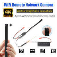 Full HD 4K FAI DA TE Portatile WiFi IP Mini Macchina Fotografica P2P Wireless Mini Videocamera Video Audio Recorder Supporto Vista A Distanza carta di TF Batteria