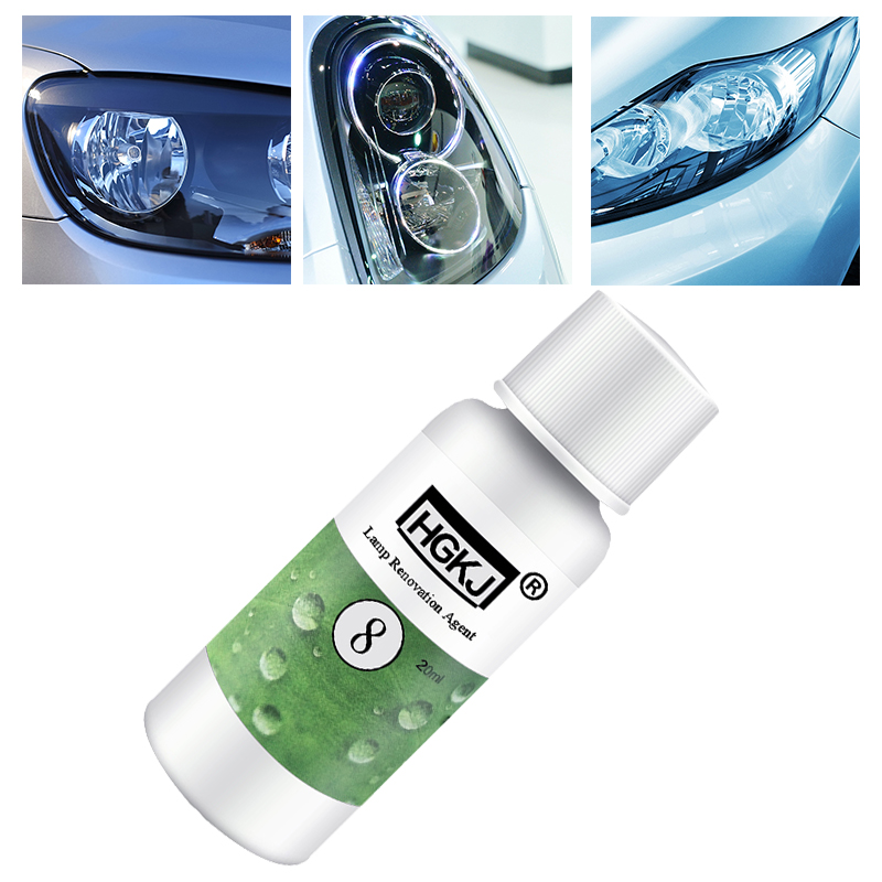 New 20ML Car Headlight Polishing Repair Renewal Kit Car Refurbishment Renovation Cleaning Brightener Repair Lamp Transformation