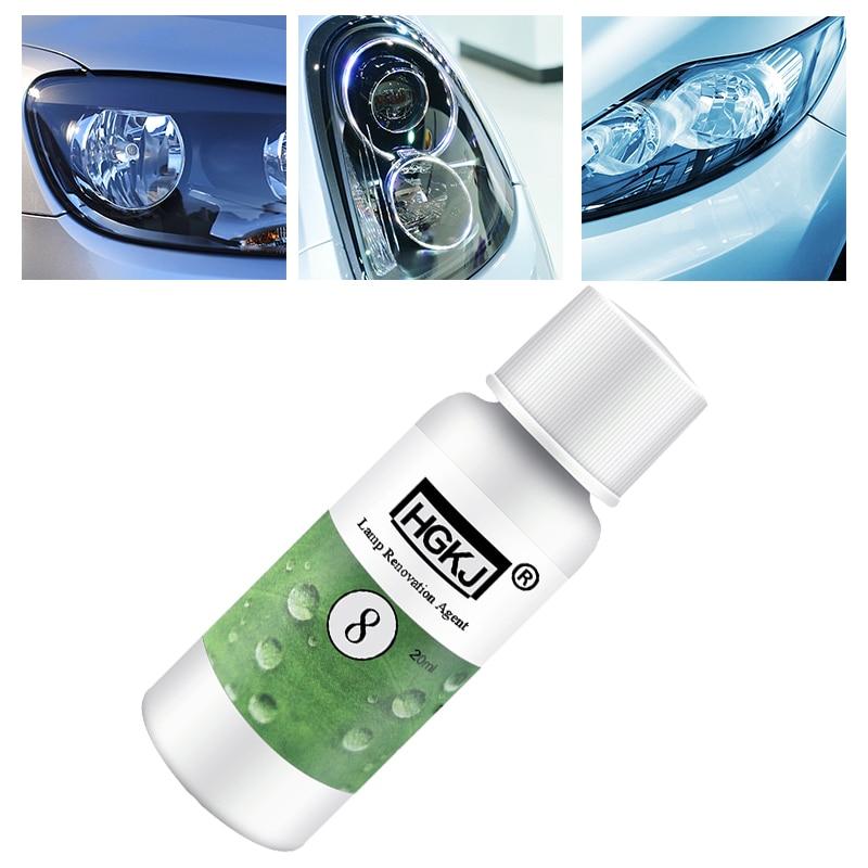 New 20ML Car Headlight Polishing Repair Renewal Kit Car Refurbishment Renovation Cleaning Brightener
