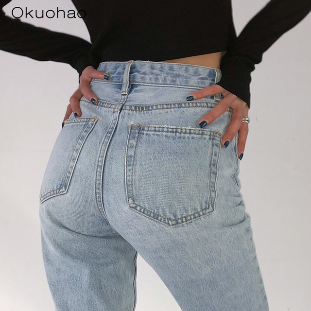 Loose Comfortable Jeans  4