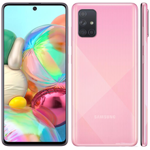 """Brand New Samsung Galaxy A71 A715F/DS LTE Mobile Phone 8GB RAM 128GB ROM Octa Core 6.7""""1080x2400P 4500mAh NFC Dual SIM Android10(China)"""