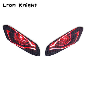 For YAMAHA YZF-R3 YZFR3 YZF R3 2019 2020 Motorcycle 3D Front Fairing Headlight Stickers Guard Head light protection Sticker