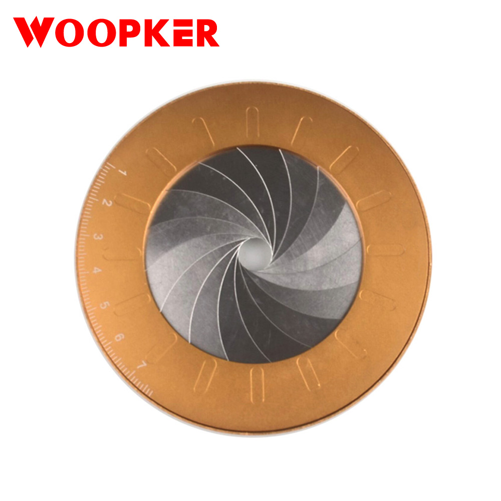 Circle Drawing Tool Rotate Adjustable Size Drawing Stainless Steel Disc DIY Draw Circle Tool