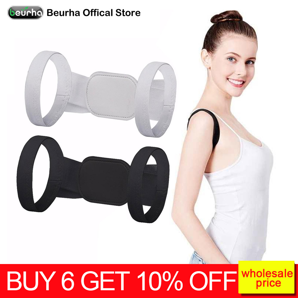 Back Posture Corrector Belt Clavicle Support Correction Straight Shoulders Brace Strap with Velcro for Adult Child S/M/L/XL(China)