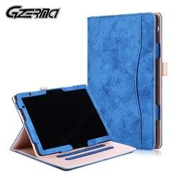 Étui en cuir Folio pour Huawei MediaPad T5 10 AGS2-W09/L09/L03/W19 10.1 ''housse de support de tablette pour Huawei MediaPad M5 Lite 10
