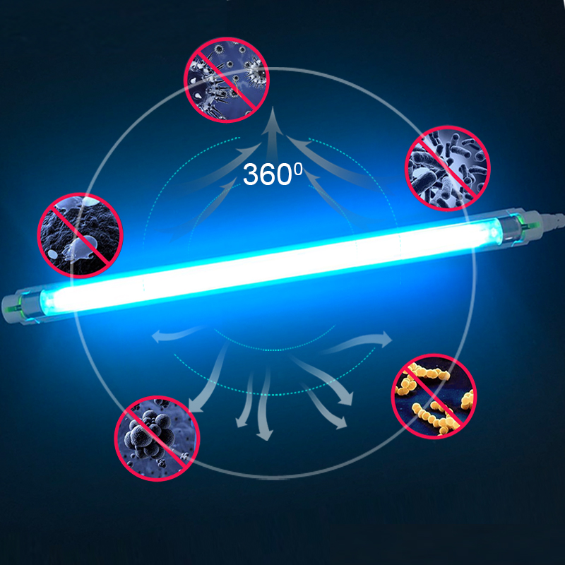 220V 240V 8W 6W Steril Lamp Germicidal Ultraviolet Light Quartz Lamp T5 Tube UVC Bactericidal LED Lamp UV Lamp Sterilization