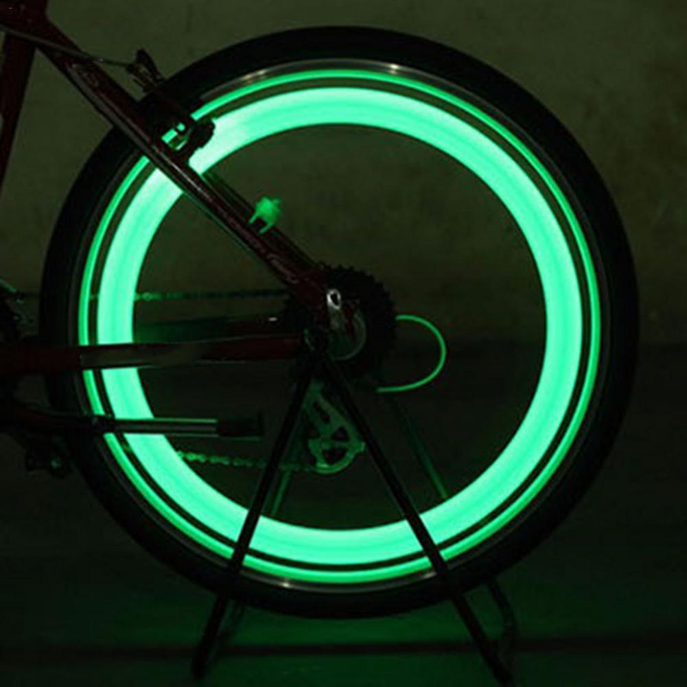 Cycling Wheel Spokes Lamp / Mountain Bike Spokes S-Type Light / Bicycle Riding Equipment Fixed Gear Willow Leaf Lamp