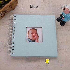Бумажный фотоальбом De Fotografia Baby Скрапбукинг Fotograf Albumu Diy Фотоальбом дети записная книжка Portafoto Plakboek