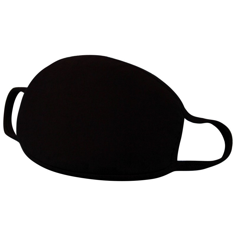 Mouth Masks Black Dust Mask Anti Haze Pollution Washable Reusable Double Cotton Non-medical Mask Coronavirus Face Mouth Mask