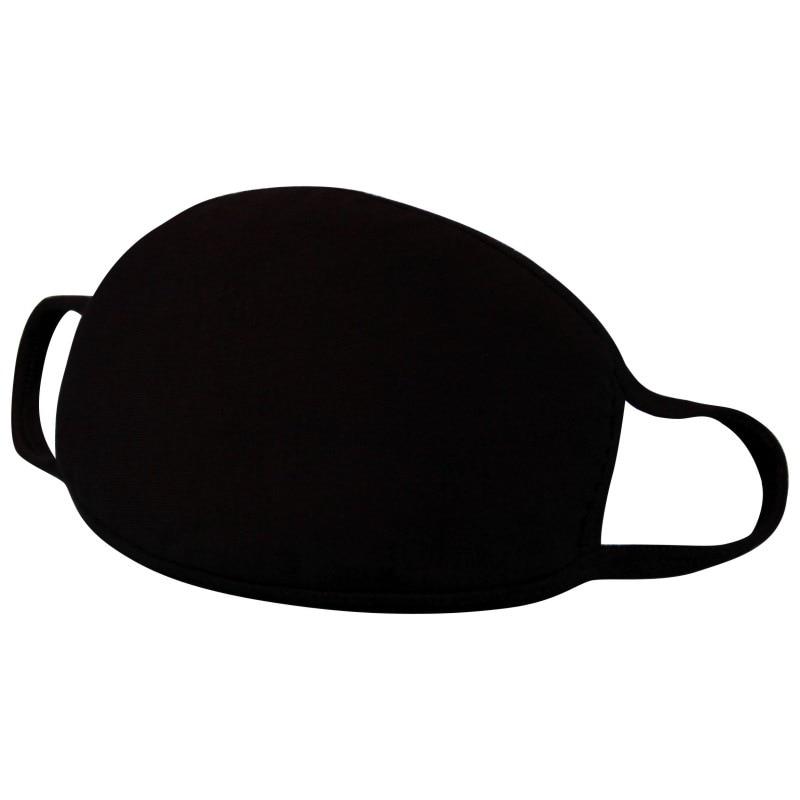 Mouth Masks Black Dust Mask Anti Haze Pollution Washable Reusable Double Cotton Non-medical Mask Coronavirus Face Mouth Mask