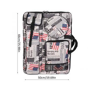 Image 3 - Многофункциональная водонепроницаемая сумка для рисования, удобная уличная сумка для эскизов с ремешком, принадлежности для рисования