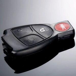Image 3 - 4 ボタンの交換キーレスエントリーリモート車のキーシェル警報ため MERCEDES BENZ ECR CL GL SL CLK SLK