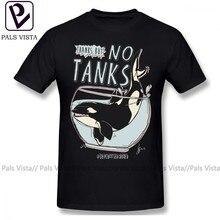 Orca t camisa seaworld camiseta 100 algodão camisa masculina divertido básico oversize gráfico de manga curta tshirt