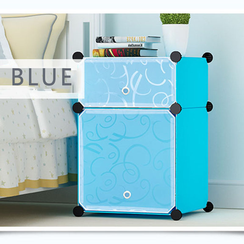 Simple Bedside Table Special Storage Plastic Simple Modern Economic Locker Bedroom Bedside Storage Small Cabinet Nightstand