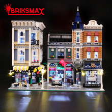BriksMax Led Light Up Kit for Creator The Assembly Square Building Blocks Model Lighting Set Compatible with 10255 цена
