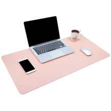 Office desk pad pink pads on top of desks transparent non slip 24x17,waterproof mouse gold