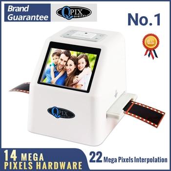 High Resolution 22 MP 35mm Negative Film Scanner 110 135 126KPK Super 8 Slide Film Photo Scanner Digital Film Converter 2.4LCD
