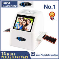 "Hohe Auflösung 22 MP 110 135 126KPK Super 8 Negative Film Scanner 35mm Rutsche Foto Scanner Digital Film Konverter 2.4 ""LCD"