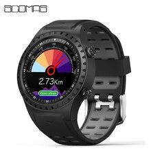 """SCOMAS Astuto di GPS Della Vigilanza 1.3 """"Rotonda Display Supporto Bluetooth Chiamata di Telefono di GPS Bussola Monitor di Frequenza Cardiaca di Sport Esterno Smartwatch"""