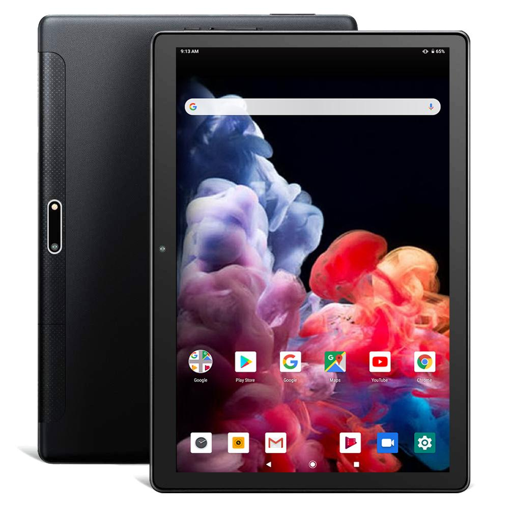 2020 New Android 9.0 Tablet Pc 10.1 Inch 6G+128GB WiFi Google Bluetooth 8 Cores  1920*1200 Screen Tablets Black  Tablet Android