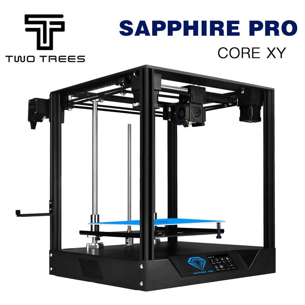 Image 3 - TWO TREES 3D Printer Sapphire pro CoreXY BMG Extruder Core xy High precision  3d DIY Kits 3.5 inch touch screen MKS  facesheild3D Printers   -