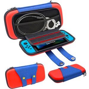Image 5 - Boîte de rangement EVA pour Nintendo Switch sac de transport Console de jeu NS hôte accessoires Pack accessoires interrupteur accessoires Joycon