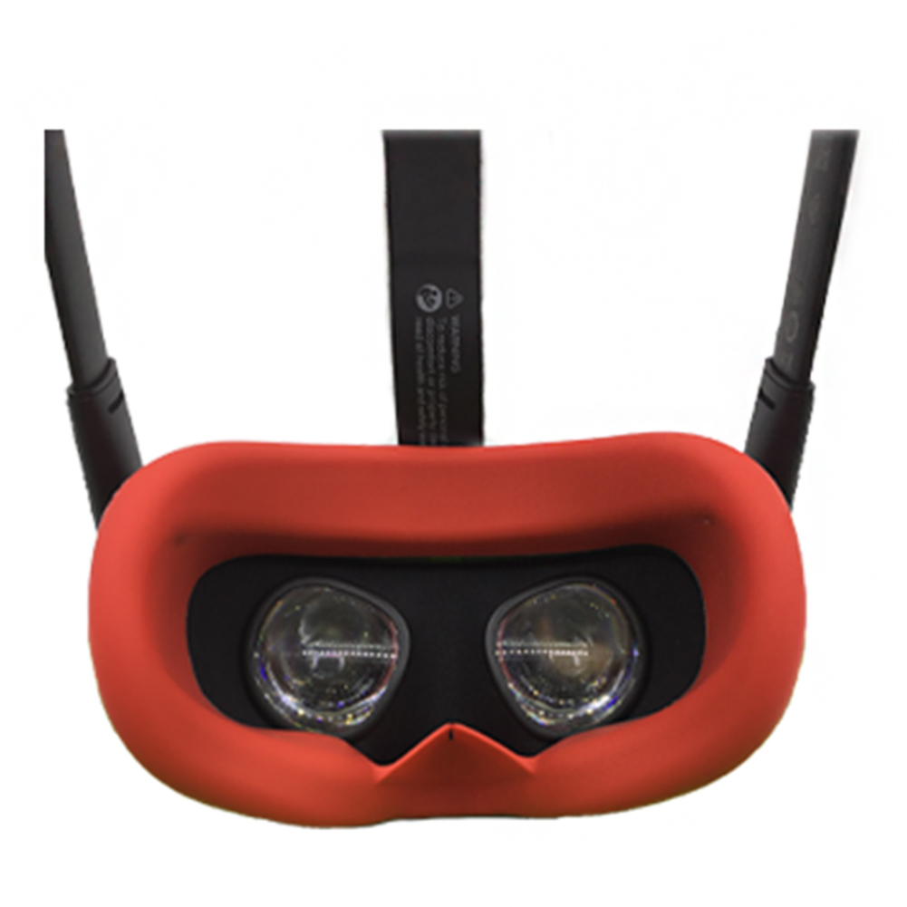 Skin Face VR Glasses Replacement Cover Accessories Eye Mask Shading Soft Gifts Silicone Elastic Protective For OculusQuest|VR/AR Glasses Accessories| |  - title=
