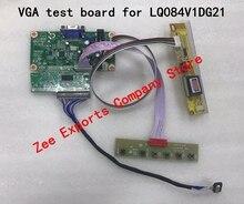 Тестовая плата VGA, подходит для LQ084V1DG21/21/41/42, экранная линия + Высоковольтная панель + клавиатура