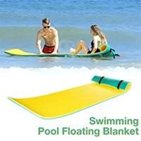 Durable Wasser Decke Anti-reißen Xpe Schaum Schwimm Pad Wasser Schwimm Bett Pad Wasser Decke Die Schwimmen Matte Pool zubehör