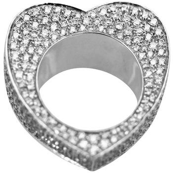 Milangirl pierścionek w kształcie serca para pierścionek damski pierścionek cyrkonia klasyczna moda biżuteria podkreślająca osobowość dla przyjaciół tanie i dobre opinie Wszystko kompatybilny Nastrój tracker Serce Zespoły weselne CN (pochodzenie) Zaręczyny AJZ149 Pierścionki Metal Prong ustawianie