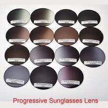 Gafas de sol graduadas multifocales, graduadas, para miopía, hipermetropía, lentes de lectura óptica, 1,56, 1,61, 1,67, (añadir + 0,5 ~ + 4,00)