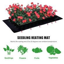 100 Вт Нагревательный коврик для рассады прочный водонепроницаемый цветы фрукты овощи рассада рост Проращивание размножение пусковая площадка