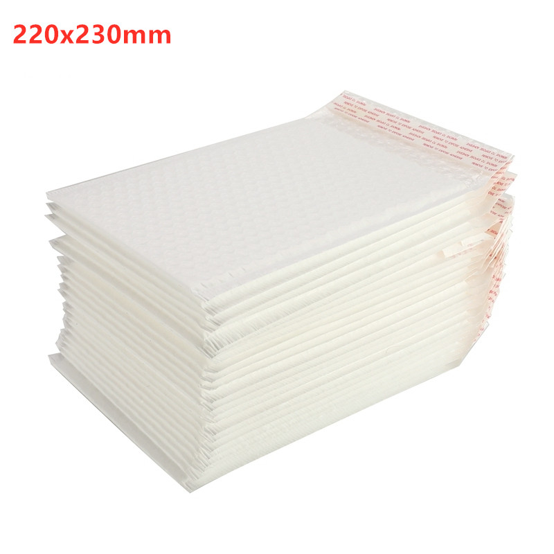 22x23cm Different Quantity Matte Bubble Film Envelope Bag Foam Express Delivery Packaging Mailing Envelope Bag