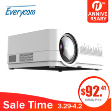 Movie Proyector Portatil Projecteur Everycom Home Theater Beamer Video HQ3 HQ2 3000 LED
