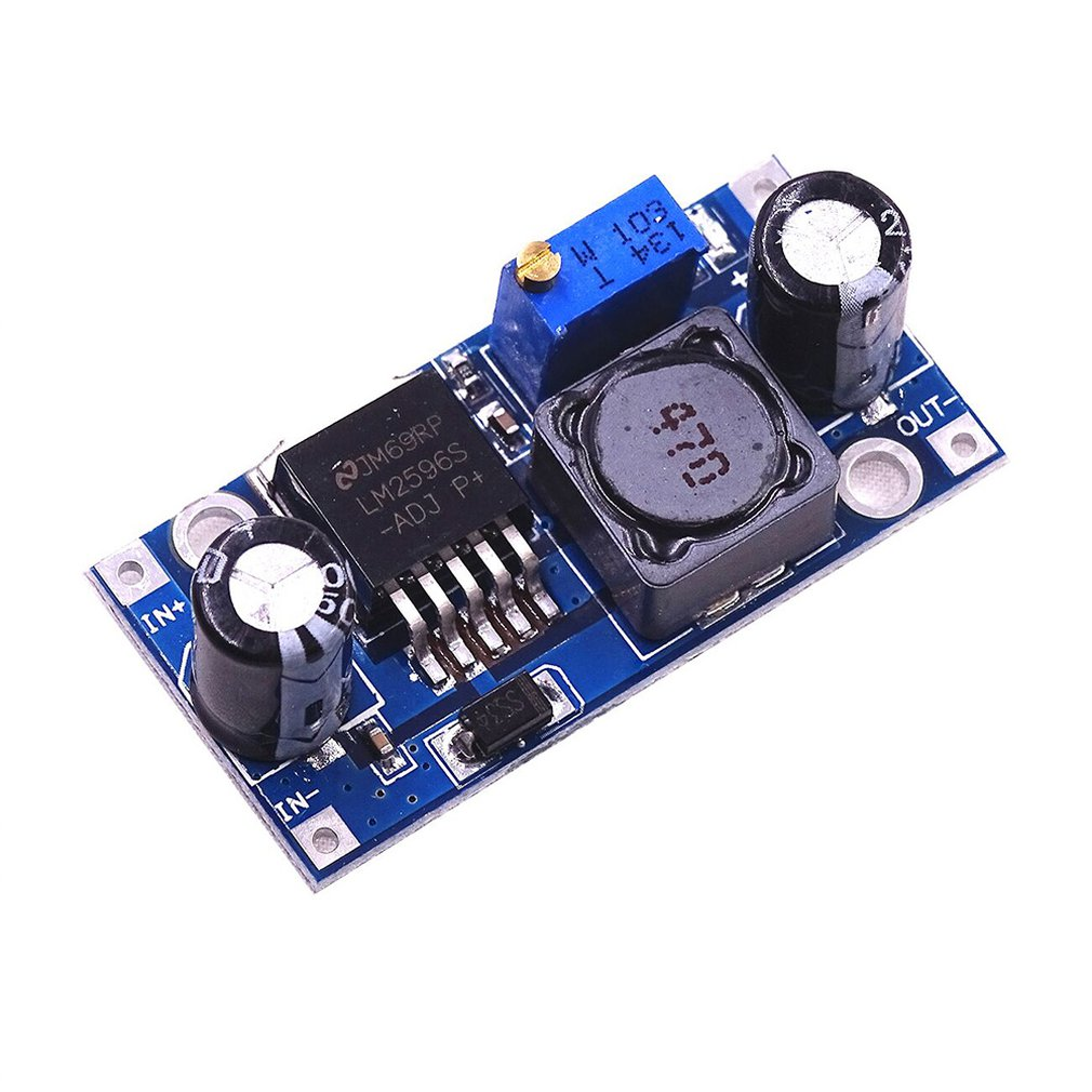 A122 Lm2596s-adj Dcdc Step-down Power Supply Module 3a Adjustable Voltage Regulator 24v To 12v 5v 3v