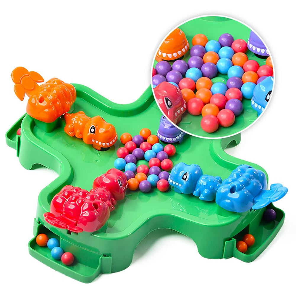 Children Desktop Toy Dinosaur Grab Beads Parent-child Interactive Game Gift New Flexible Fingers And Improve Mental Development