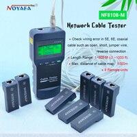 Nf_8108m testador de cabo de rede rj45 rj11  medidor de testador de cabo de rede usb NF8108-M