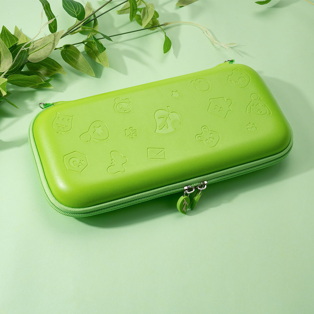 Portable Protective Bag For NINTENDO SWITCH Solid Color Printing Silicone Handbag For NS Switch Case For Switch Stand