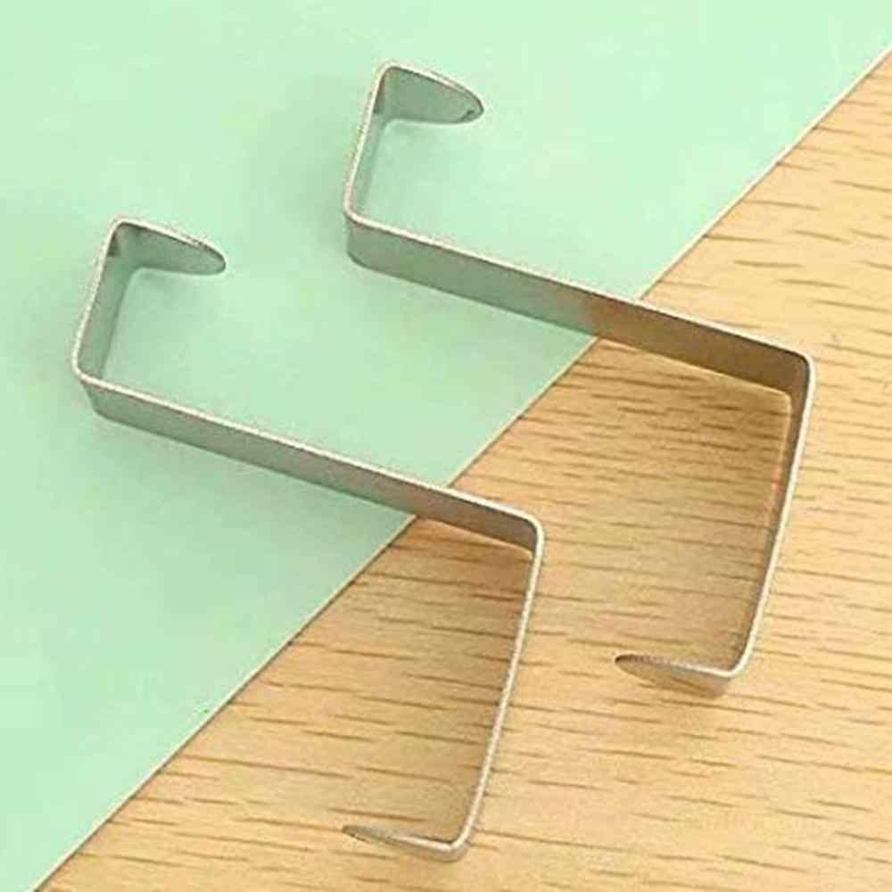 Uniwersalny wieszak na ubrania z tyłu drzwi za hak do drzwi ze stali nierdzewnej odwracalne metalowe wieszaki