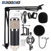 BM800コンデンサーマイクbm 800 professionalmicスタジオ録音カラオケマイクスタンドusb bluetooth録音pc新bm-800