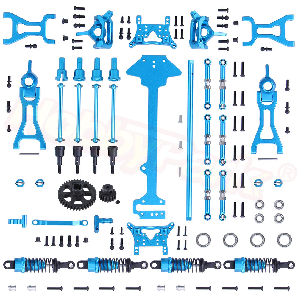 Complete Upgrade Parts For Wltoys A959 Vortex 1/18 2.4G 4WD Electric RC Car Off-Road Buggy Hop-Up Fit A969 A979