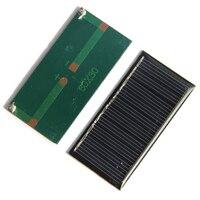Mini 0.25 W 5 V Lượng Mặt Trời Điện Hệ Thống Bảng Điều Khiển Tự Làm Cell Pin Sạc Mô Đun Di Động Panneau Solaire Năng Lượng Ban 60X30 Mm, 5 Chiếc