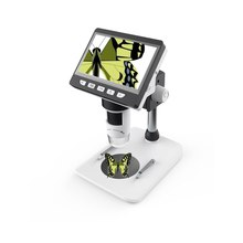 4.3 Inch 1000X Digital Microscope HD 1080P Electronic Desktop Soldering LCD Magn