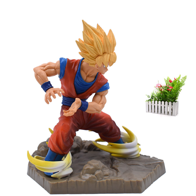 New Arrival Dragon Ball Z APF Son Goku Full Power PVC Action Figure Toy Collectible Model Great Birthday Christmas Gift